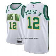 Camiseta Boston Celtics Terry Rozier III #12 Ciudad 2018-19 Blanco
