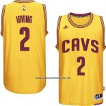 Camiseta Cleveland Cavaliers Kyrie Irving #2 Amarillo