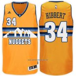 Camiseta Denver Nuggets Roy Hibbert #34 Amarillo
