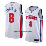 Camiseta Detroit Pistons James Ennis III #8 Association 2018 Blanco