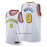 Camiseta Golden State Warriors D'angelo Russell #0 Classic Edition Blanco