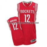 Camiseta Houston Rockets Dwight Howard #12 Rojo