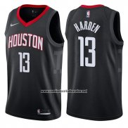 Camiseta Houston Rockets James Harden #13 2017-18 Negro