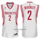 Camiseta Houston Rockets Patrick Beverley #2 Blanco