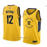 Camiseta Indiana Pacers Damien Wilkins #12 Statement 2018 Amarillo