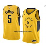 Camiseta Indiana Pacers Edmond Sumner #5 Statement 2018 Amarillo