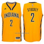 Camiseta Indiana Pacers Rodney Stuckey #2 Amarillo