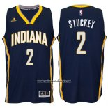Camiseta Indiana Pacers Rodney Stuckey #2 Azul