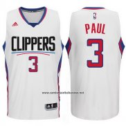 Camiseta Los Angeles Clippers Chris Paul #3 Blanco