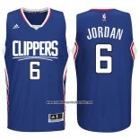 Camiseta Los Angeles Clippers DeAndre Jordan #6 Azul
