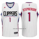 Camiseta Los Angeles Clippers Lance Stephenson #1 Blanco