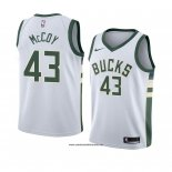 Camiseta Milwaukee Bucks Brandon Mccoy #43 Association 2018 Blanco