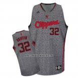 Camiseta Moda Estatica Los Angeles Clippers Blake Griffin #32 Gris