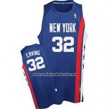 Camiseta New York Knicks Julius Erving #32 Retro Azul