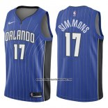 Camiseta Orlando Magic Jonathon Simmons #17 Icon 2017-18 Azul