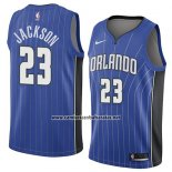 Camiseta Orlando Magic Justin Jackson #23 Icon 2018 Azul