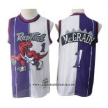 Camiseta Toronto Raptors Tracy Mcgrady #1 1998-99 Retro Violeta