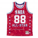 Camiseta All Star 1988 AAPE x Mitchell & Ness Rojo