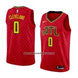 Camiseta Atlanta Hawks Antonius Cleveland #0 Statement 2018 Rojo