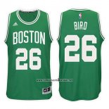 Camiseta Boston Celtics Jabari Bird #26 Road Kelly 2017-18 Verde