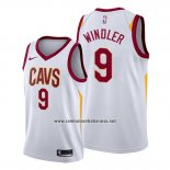 Camiseta Cleveland Cavaliers Dylan Windler #9 Association 2019-20 Blanco