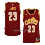 Camiseta Cleveland Cavaliers Lebron James Alternate Rojo