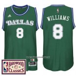 Camiseta Dallas Mavericks Deron Williams #8 Retro Verde