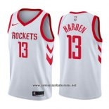 Camiseta Houston Rockets James Harden #13 Association 2019 Blanco
