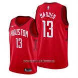 Camiseta Houston Rockets James Harden #13 Earned 2019 Rojo