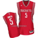 Camiseta Houston Rockets Kenny Smith #5 Rojo