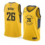 Camiseta Indiana Pacers Ben Moore #26 Statement 2018 Amarillo