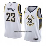 Camiseta Indiana Pacers C.j. Wilcox #23 Association 2018 Blanco
