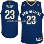Camiseta New Orleans Pelicans Anthony Davis #23 Azul