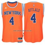 Camiseta New York Knicks Arron Afflalo #4 Naranja