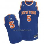 Camiseta New York Knicks Jason Kidd #5 Azul