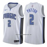 Camiseta Orlando Magic Elfrid Payton #2 Association 2017-18 Blanco