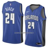 Camiseta Orlando Magic Khem Birch #24 Icon 2018 Azul