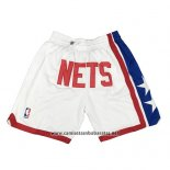 Pantalone Brooklyn Nets Just Don 2019 Blanco