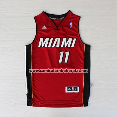 Camiseta Miami Heat Chris Anderse #11 Rojo