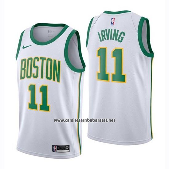 c5f34022b Camiseta Boston Celtics Kyrie Irving  11 Ciudad 2018-19 Blanco