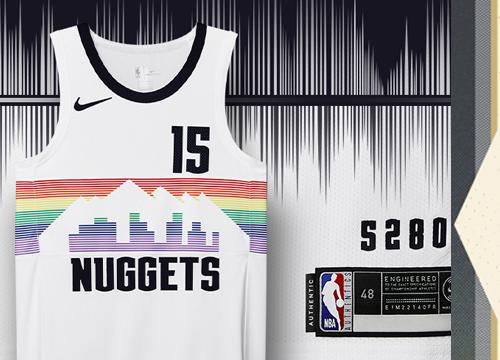 Camiseta Denver Nuggets Tienda Online