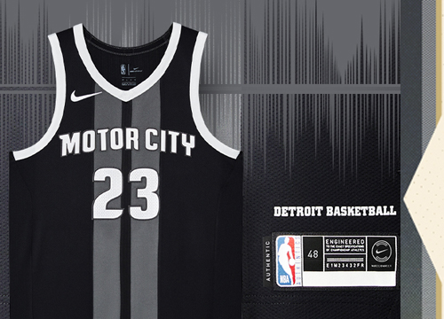 Camiseta Detroit Pistons Tienda Online