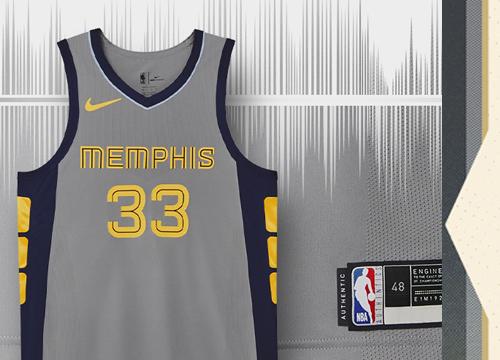 Camiseta Memphis Grizzlies Tienda Online