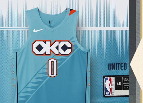 Camiseta Oklahoma City Thunder Tienda Online